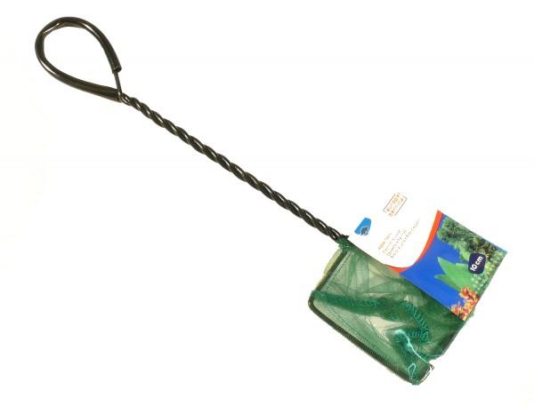 Kescher fein grün ca. 10 x 8cm - Stiellänge 25cm