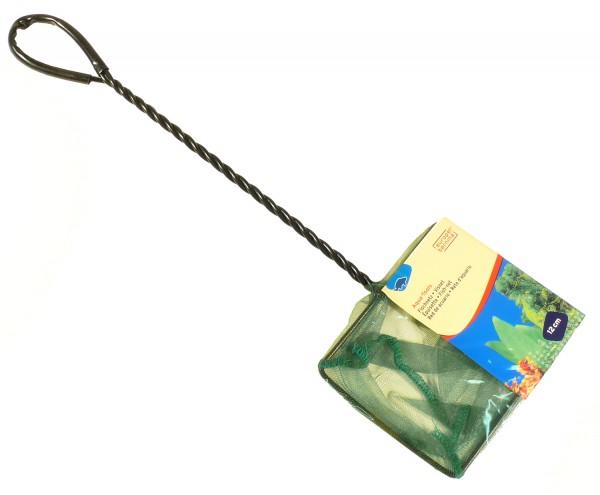 Kescher fein grün ca. 12 x 10cm - Stiellänge 29cm