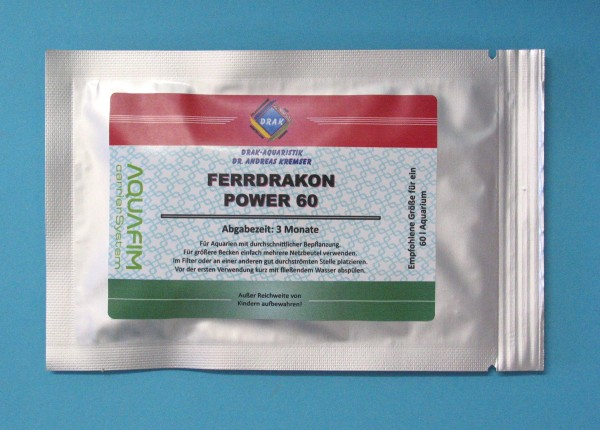 Ferrdrakon Power 60 Langzeitdünger - Automatische Tagesdüngung