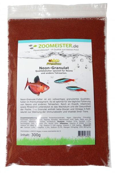 Premium Neon-Granulat Fischfutter (300g)