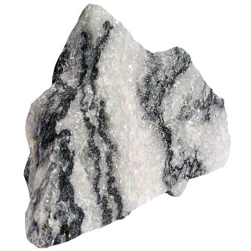 Zebra Stone Größe S Stein Deko für Aquarium / Terrarium