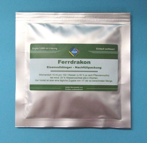 Ferrdrakon Pulver für 3 l Lösung - reicht für 30.000L Aquariumwasser