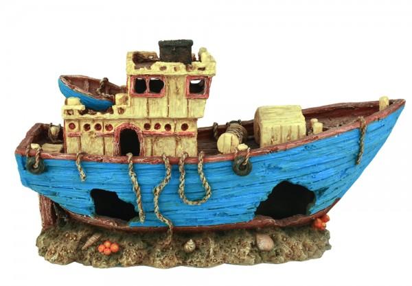 Aquarium Dekoration Schiff Wrack MS Arkona 27cm