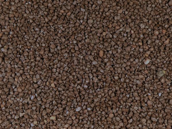 5kg Farbkies - braun 2-4 mm - Bodengrund - ummantelt