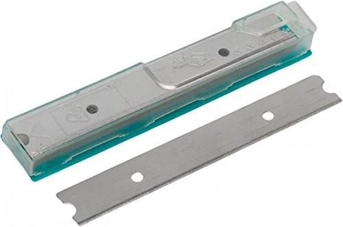 Glasschaber, Ersatzklingen 10 Stück, 10cm, einseitig, im Dispenser