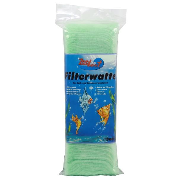 Zoobest grobe Biolen-Filterwatte 500g grün