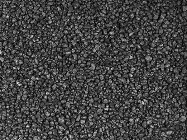 5kg Farbkies - schwarz 2-4 mm - Bodengrund - ummantelt