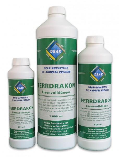 Ferrdrakon 0,5 l - Eisenvolldünger - reicht für 5.000L Aquariumwasser