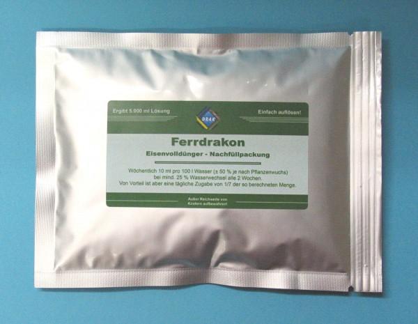 Ferrdrakon Pulver für 5,0 l Lösung - reicht für 50.000L Aquariumwasser